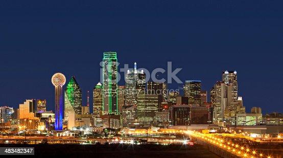 istock Skyline - Dallas, Texas 483482347