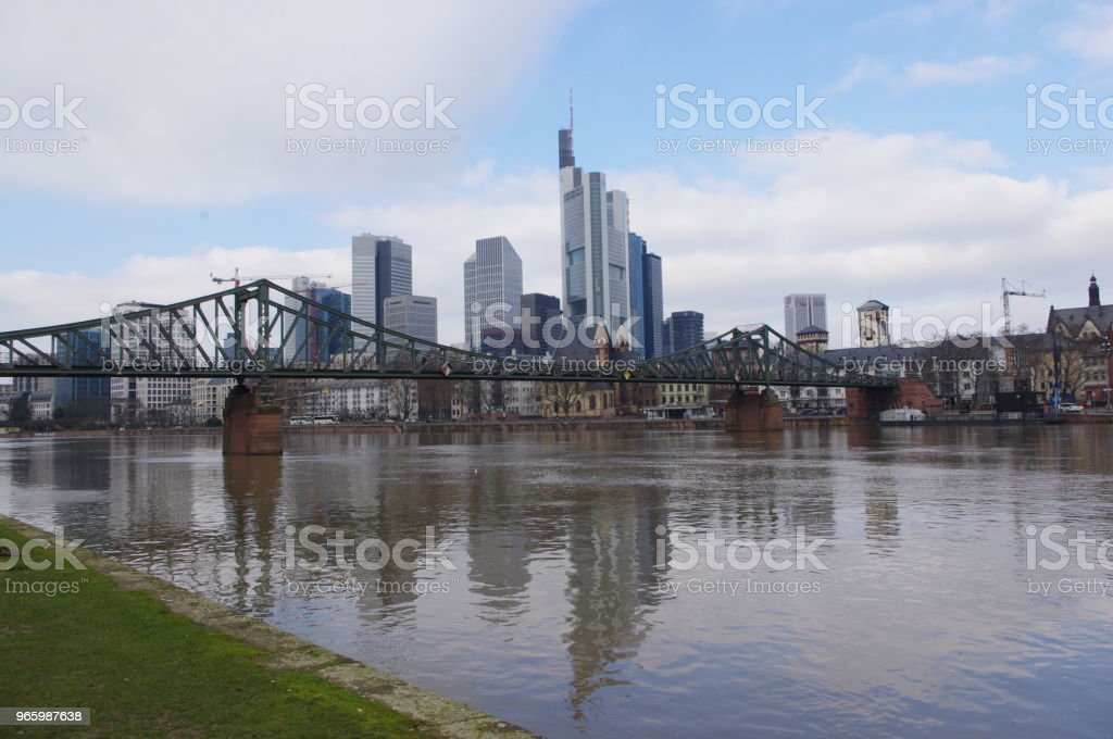 Skyline Frankfurt am Main - Royalty-free Architecture Stock Photo