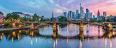 istock Skyline Frankfurt at sunset 972722722