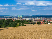 Skyline from Bamberg in Bavaria