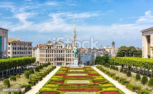 Skyline in Brussels