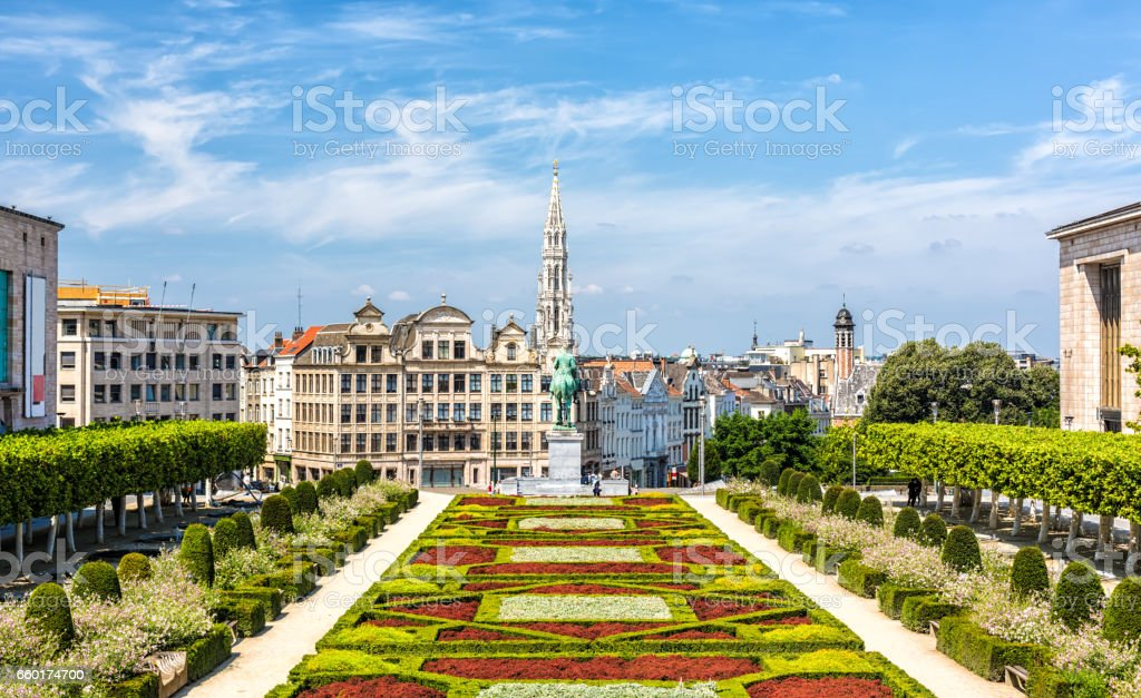 Skyline in Brüssel – Foto