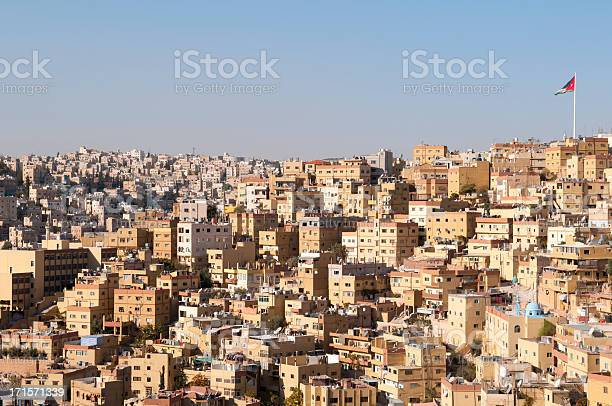 Skyline of Amman, Jordan