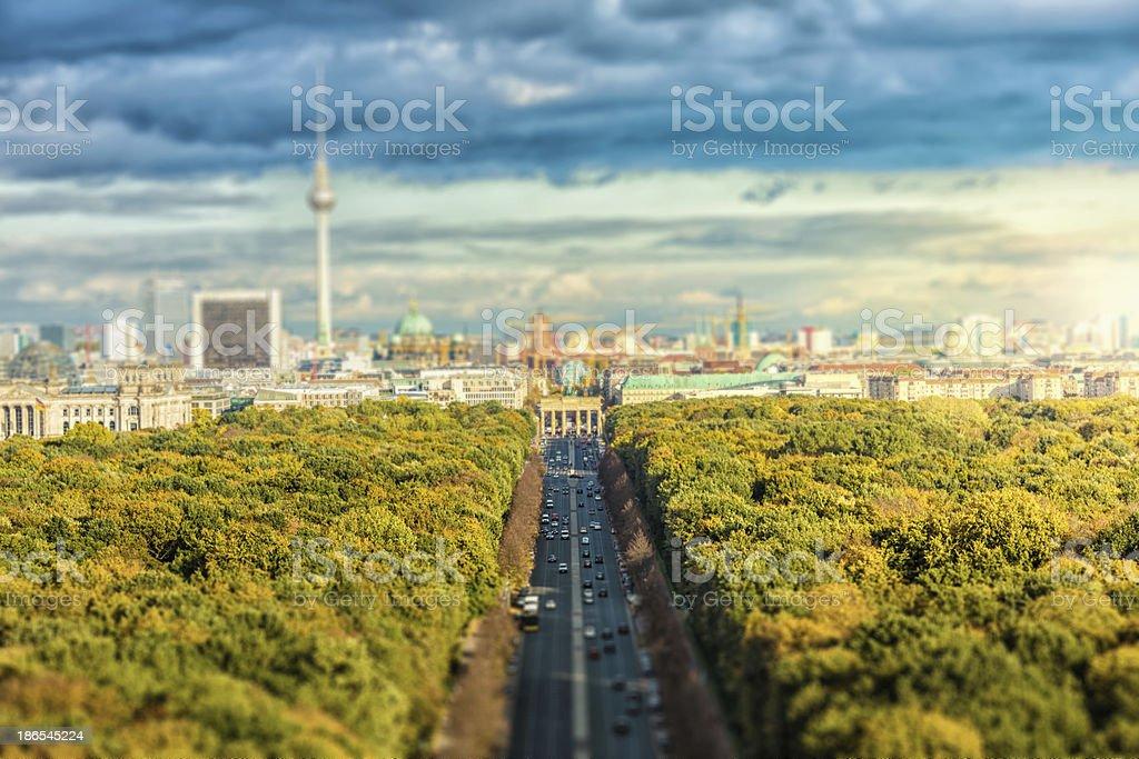 Skyline von Berlin – Foto