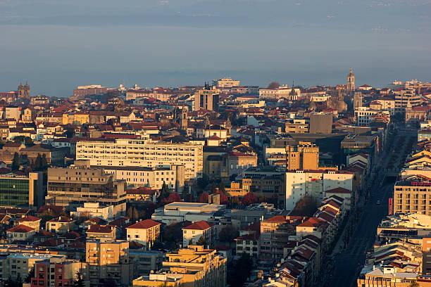 Skyline von Braga in Portugal – Foto