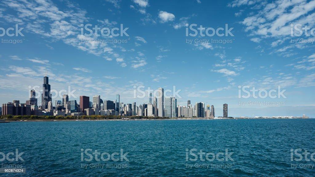 Skyline von Chicago City, Illinois. USA – Foto