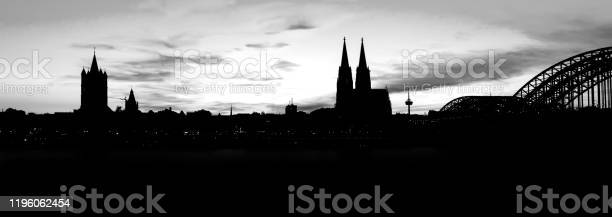 Skyline of cologne with bridge and church in black and white with picture id1196062454?b=1&k=6&m=1196062454&s=612x612&h=0pafejfsk4iia  qqlolvp9ywzubnbar58wxj1hwmfq=