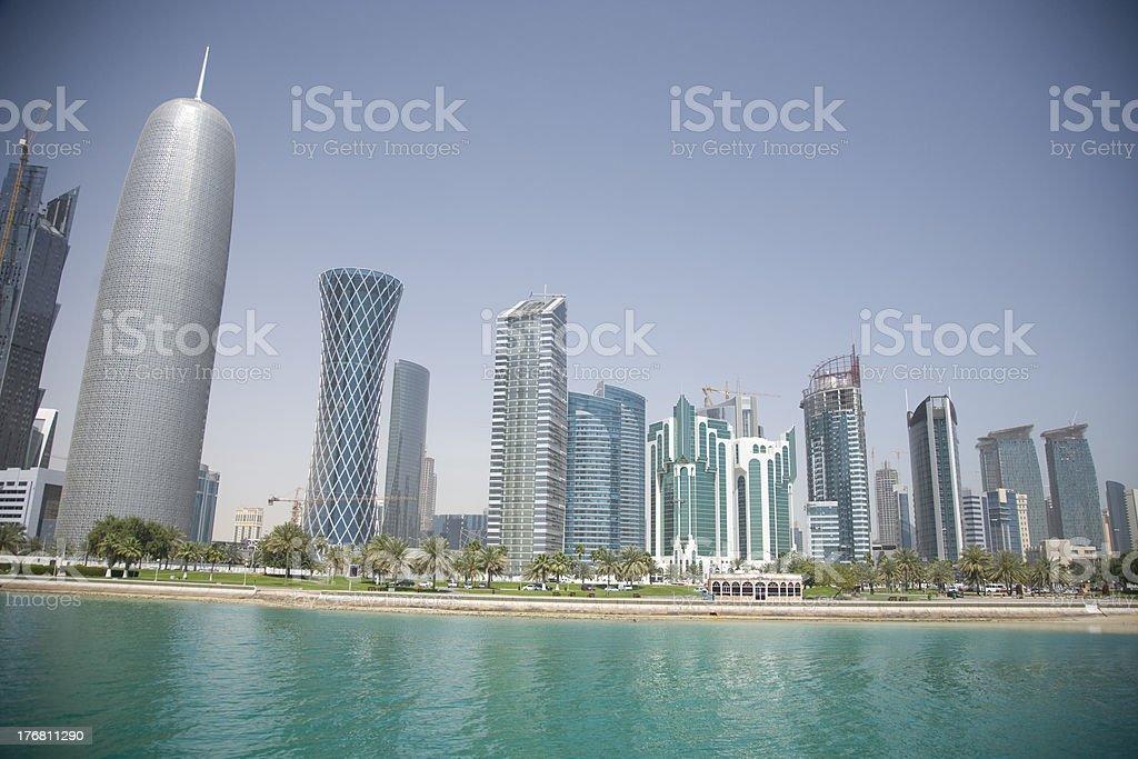 Skyline von Doha, Katar – Foto