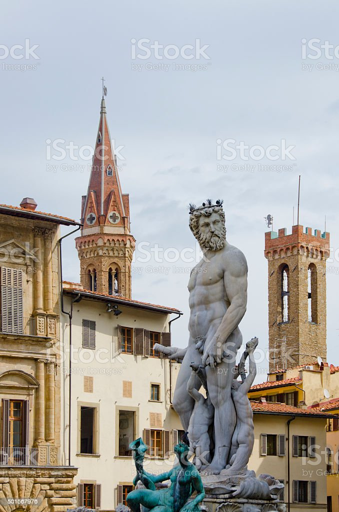 Skyline of Florence, Italy stock photo