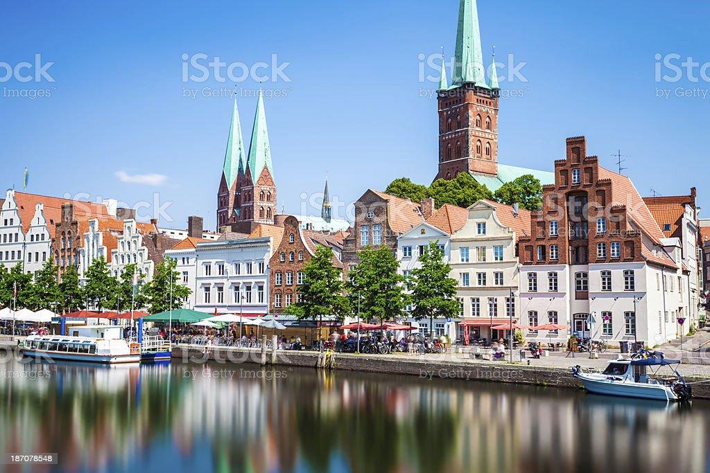 Skyline von Lübeck – Foto