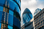 istock Skyline of London with 30 St Mary Axe 1194557314