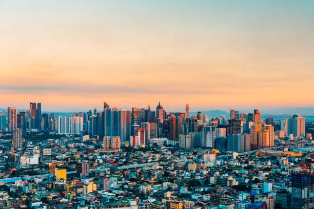 Skyline of Makati City, Philippines