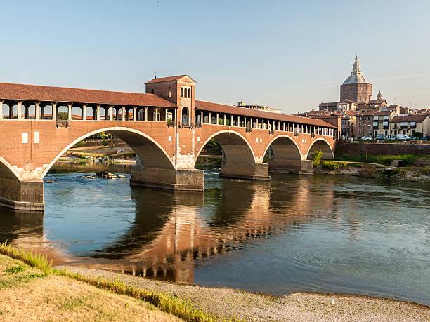 Skyline of Pavia, with