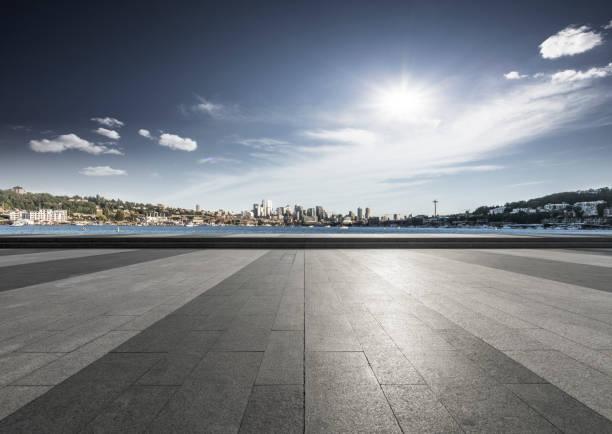 Skyline von seattle – Foto