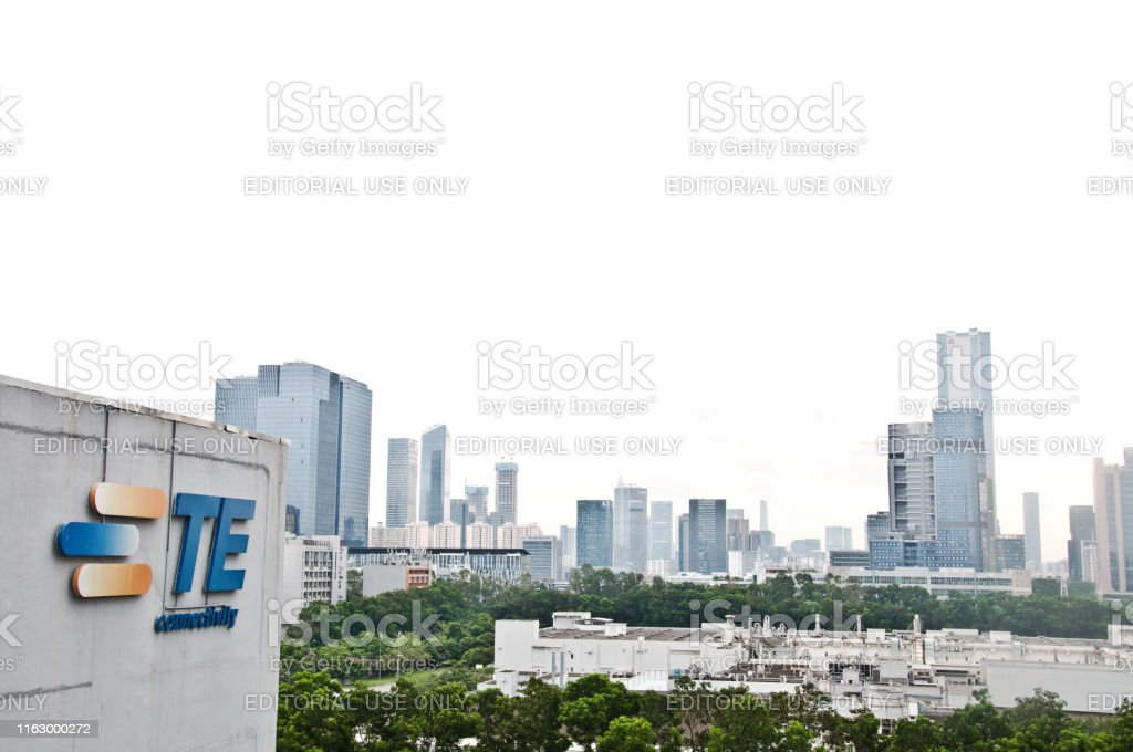 Skyline of Shenzhen High-Tech Industrial Park in Bao\'an District of...