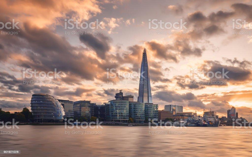 Skyline der Stadt in London, England – Foto