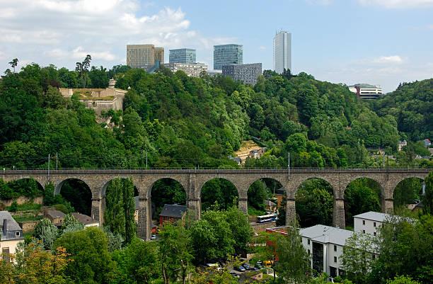 skyline des europäischen Viertel, Luxemburg – Foto