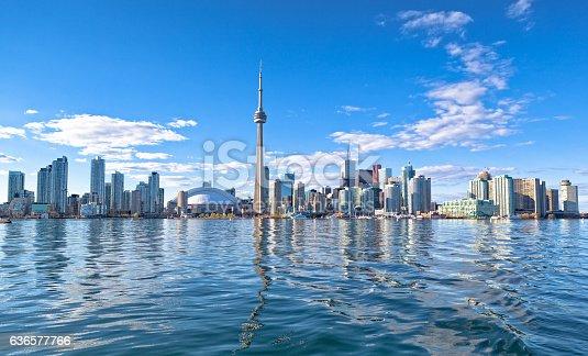 istock Skyline of Toronto 636577766