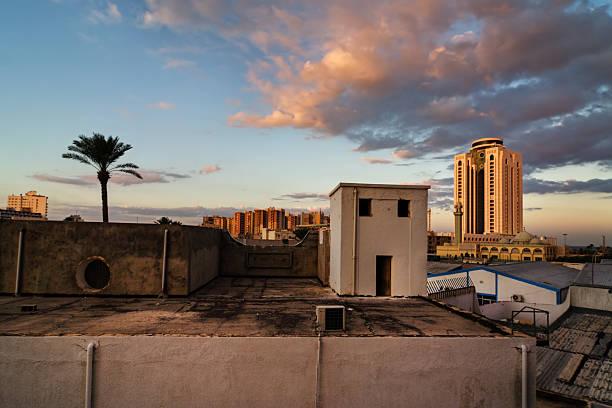 Skyline of Tripoli / Libya stock photo