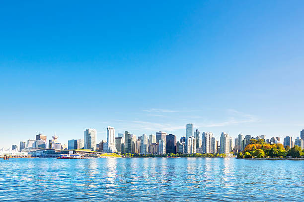 skyline of vancouver,canada - jodijacobson stock pictures, royalty-free photos & images
