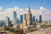 istock Skyline of Warsaw, Poland 610990082