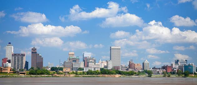 Skyline Panorama of Memphis, Tennessee