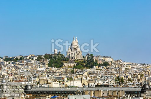 Skyline Paris with Sacre Coeur