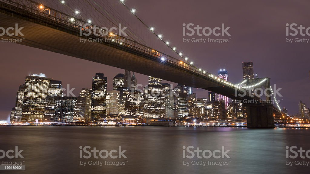 NYC skyline royalty-free stock photo