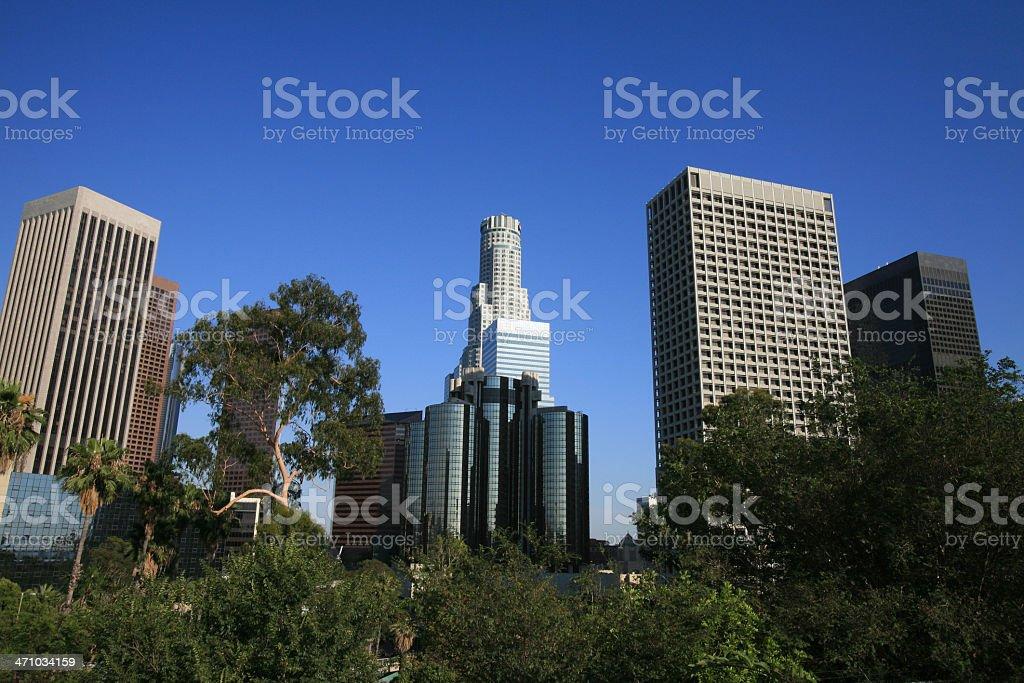 LA Skyline royalty-free stock photo