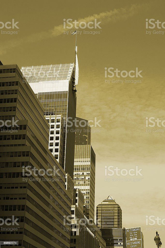 skyline royalty-free stock photo