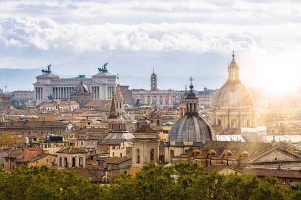 Skyline Rome stock photo