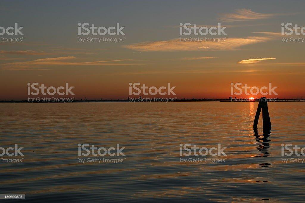 skyline venice italy royalty-free stock photo