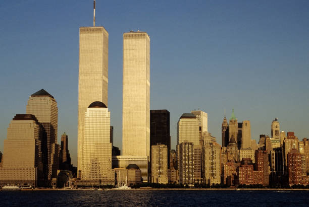 Best Twin Towers Manhattan Stock Photos, Pictures & Royalty