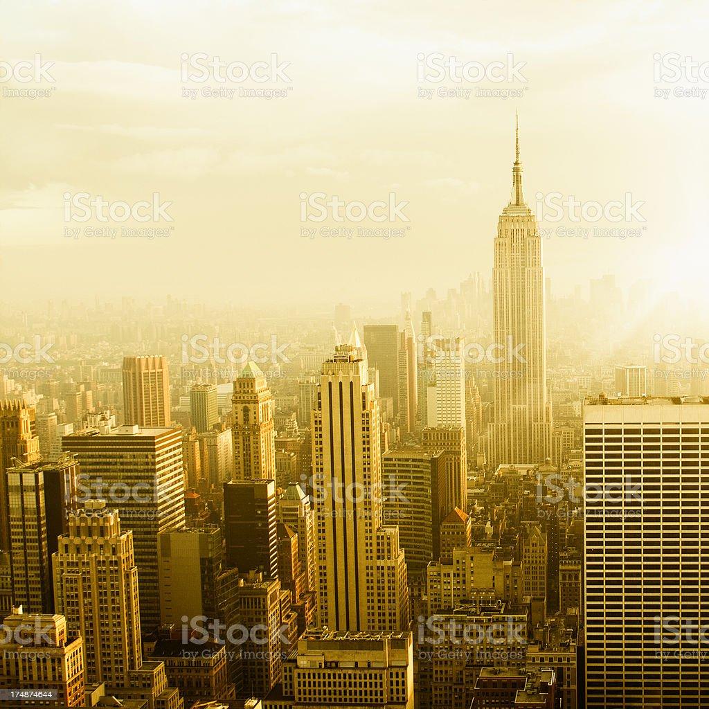 Skyline,NYC royalty-free stock photo