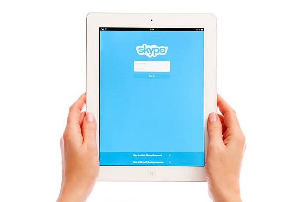 Skype auf dem iPad – Foto