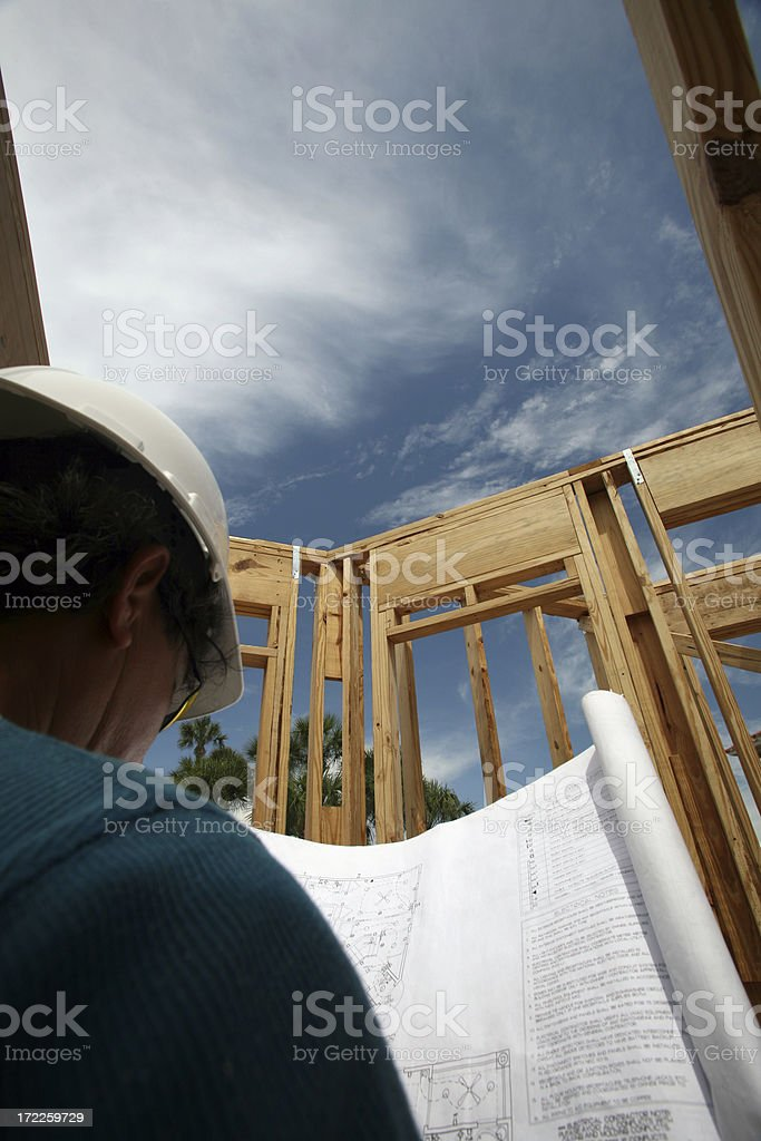 Skys the limit. royalty-free stock photo