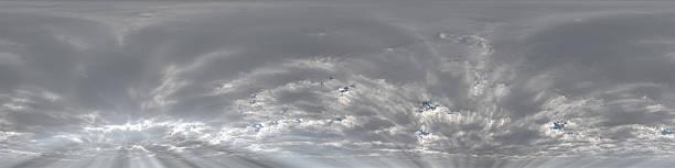 skyscape panoramique à 360 degrés - Photo