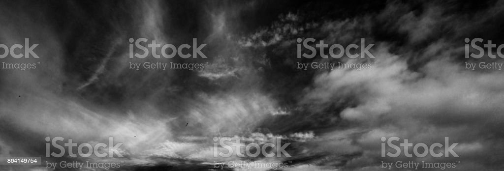 Skyscape over Liverpool Albert Dock royalty-free stock photo