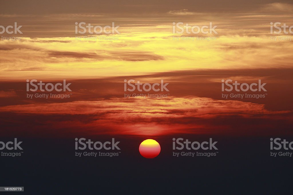 Skyscape royalty-free stock photo