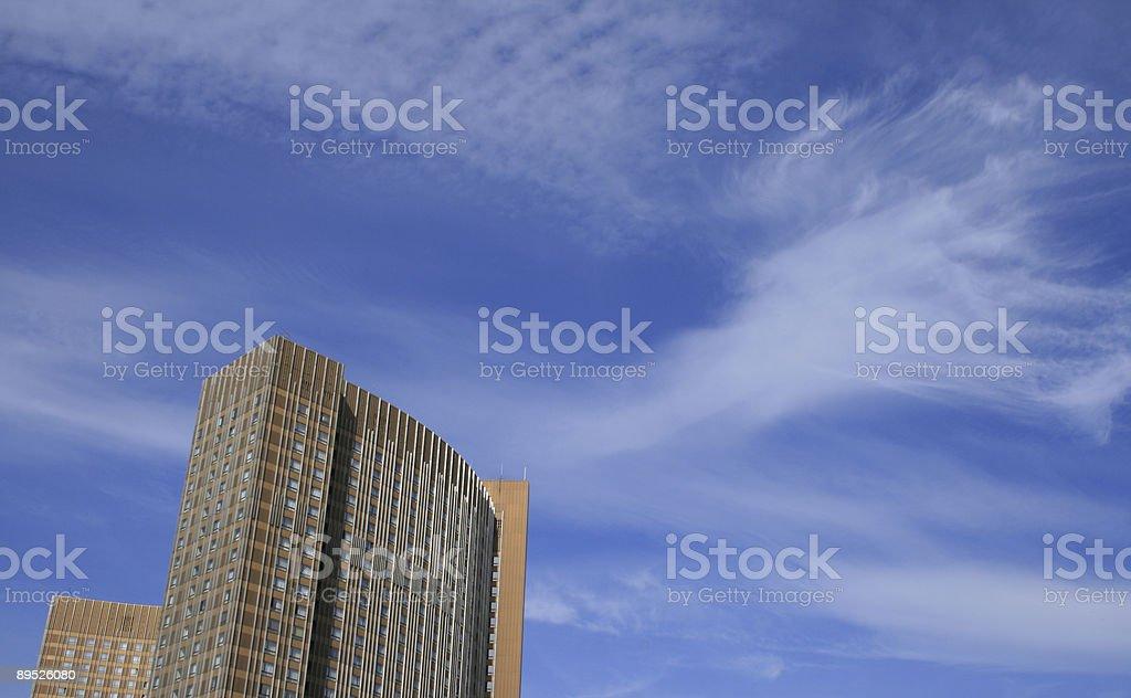 skyscaper foto de stock libre de derechos