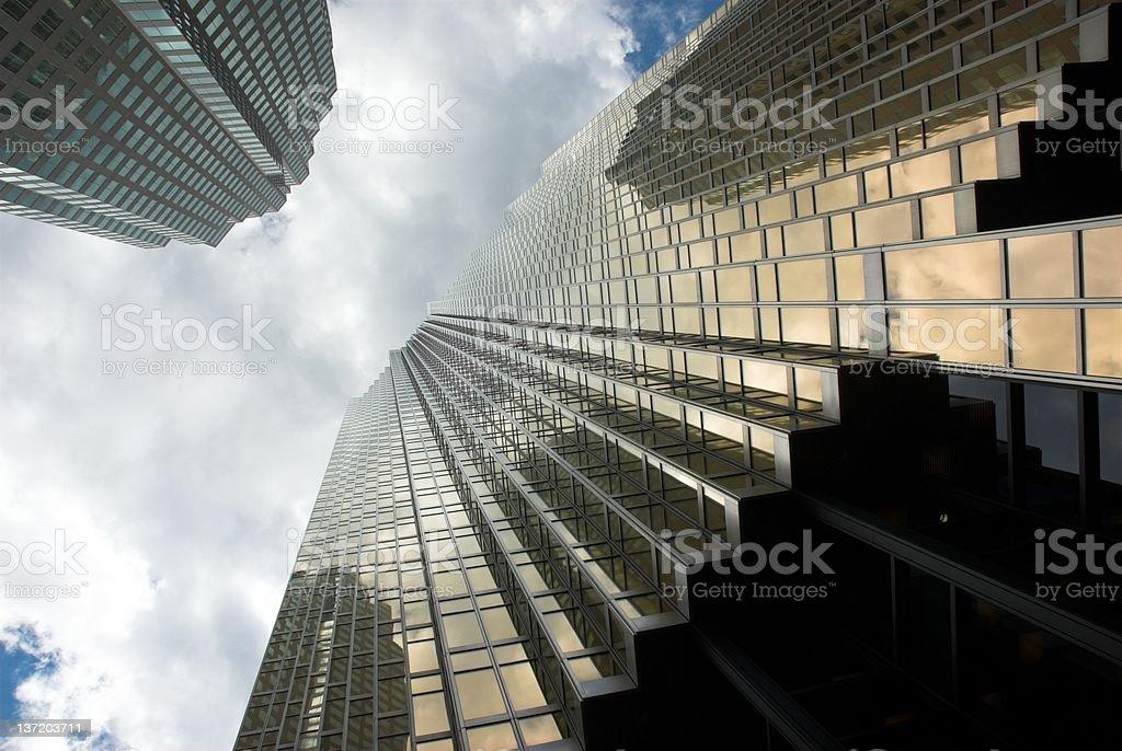 Skyscraper abstract. royalty-free stock photo