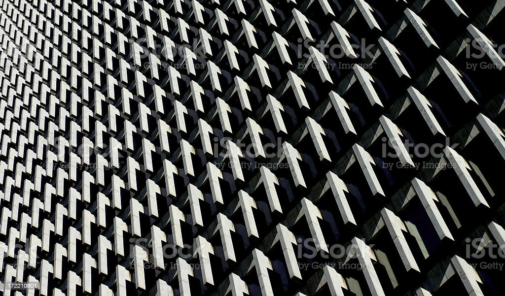 Skyscraper abstract stock photo