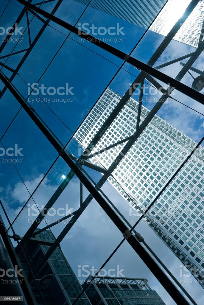 Skyscraper abstract royalty-free stock photo