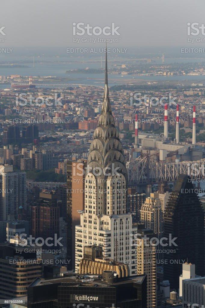 Skyscraper. America, New York City - May 11, 2017 stock photo