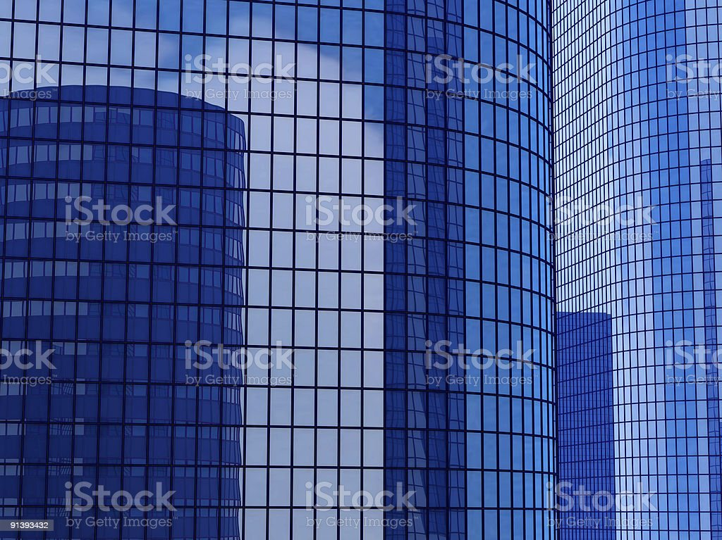 skyscraper background royalty-free stock photo