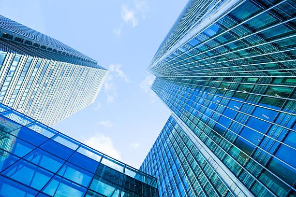 Wolkenkratzer-Business-Büro Corporate Gebäude in London, England, Großbritannien – Foto