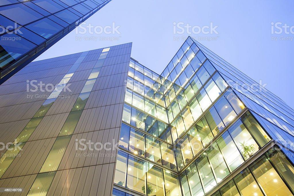 Skyscraper Business Office, Corporate building in London City, England, UK stock photo