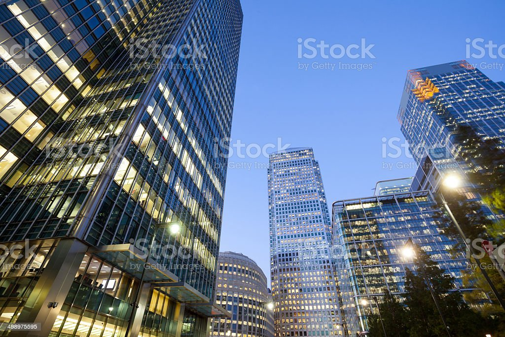 Wolkenkratzer-Business-Büro Corporate Gebäude in London, England, Großbritannien – Foto