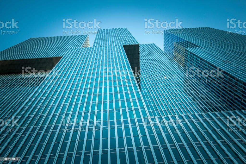 skyscraper corporate building, rotterdam, the netherlands stock photo