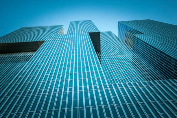 skyscraper corporate building, rotterdam, the netherlands - rotterdam foto e immagini stock